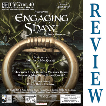 Review of Engaging Shaw at Theatre 40