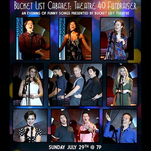 Bucket List Cabaret at Theatre 40