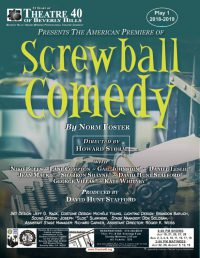 Screwball Comedy at Theatre 40