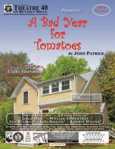 A Bad Year for Tomatoes at Theatre 40 poster