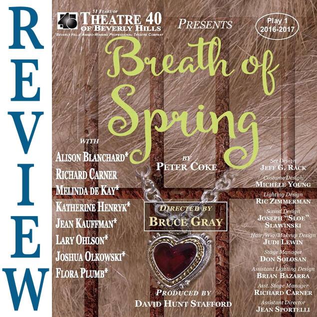 Breath of Spring at Theatre 40