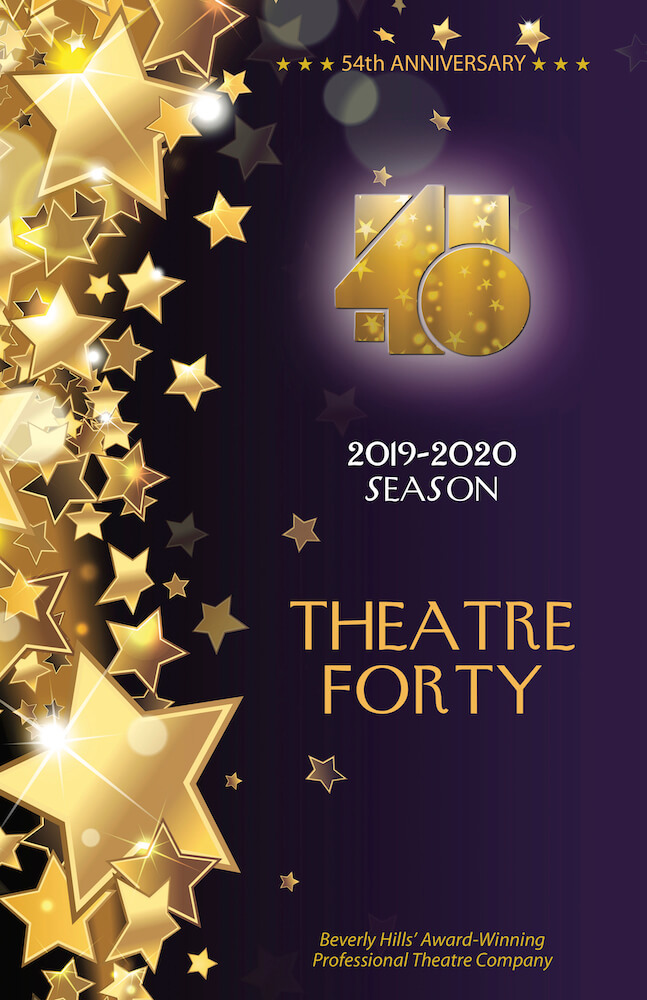 Theatre 40 2019-2020 Season Brochure Page 1