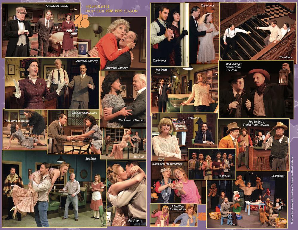 Theatre 40 2019-2020 Season Brochure Page 3