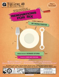 Renovations For Six at Theatre 40 poster