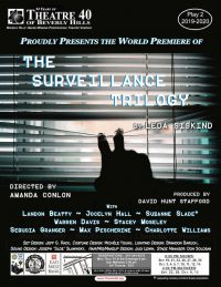 The Surveillance Trilogy at Theatre 40