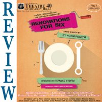 Review of Renovations for Six at Theatre 40