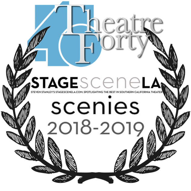 Theatre 40 honored with 2018-2019 Scenies