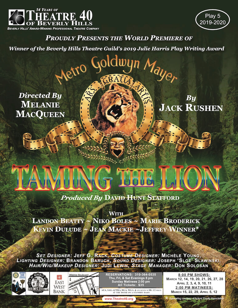 Taming the Lion at Theatre 40