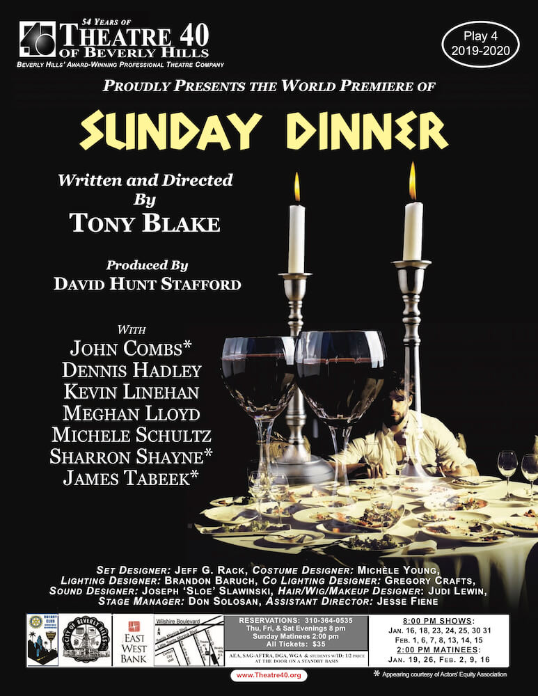 Sunday Dinner at Theatre 40