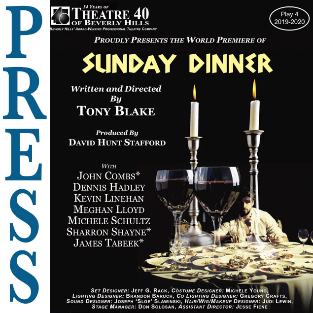 Press for Sunday Dinner at Theatre 40