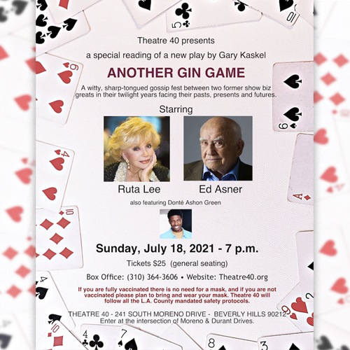 Another Gin Game at Theatre 40