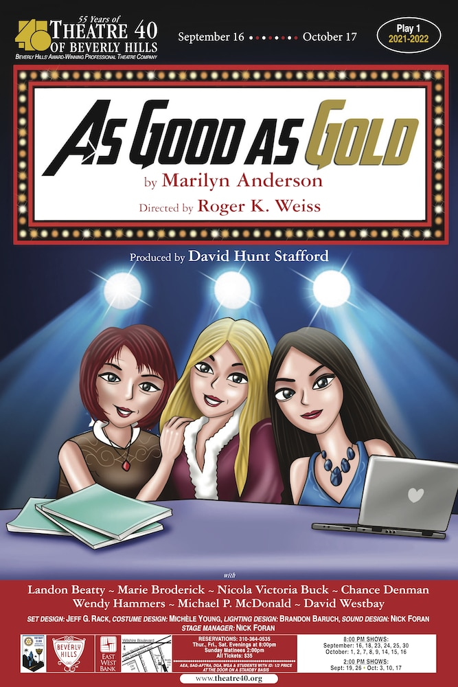 As Good As Gold at Theatre 40